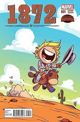 1872 #1 Marvel Skottie Young Variant Cover Lot Of 10X Copies Nm- Or Better