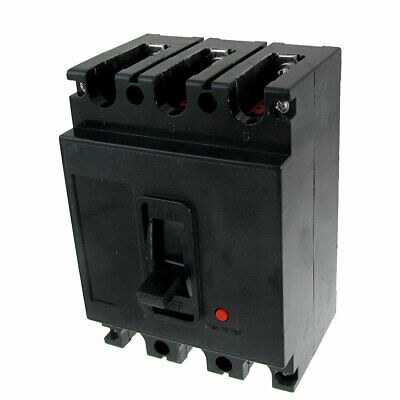 40A Three Poles 3P MCCB Moulded Case Circuit Breaker 380VAC 220VDC