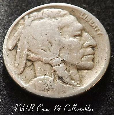 1926 USA Buffalo Nickel Coin - United States of America.....
