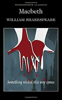 Macbeth (Wordsworth Classics) by Shakespeare, William Paperback Book The Cheap