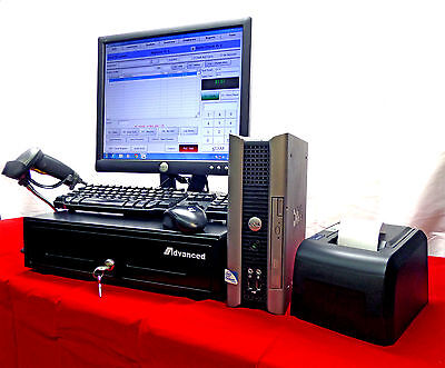 Touchscreen Entry level Point of Sale POS System - Refurbished PC Win 10 Pro