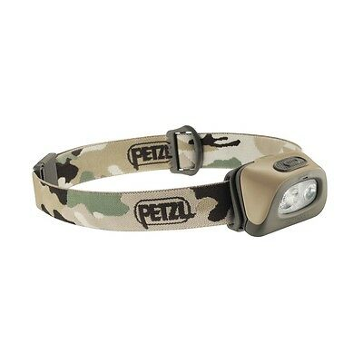 Lampe Frontale Polyvalente Petzl Tactikka + Camouflage