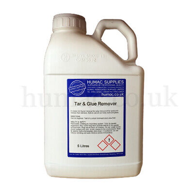 Tar Adhesive Glue Sticker Remover Intensive Chemical Highly Concentrated 5 Litre