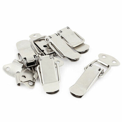 Case Box Chest Trunk Metal Spring Loaded Clamp Toggle Latch Catch Set 6 Pcs