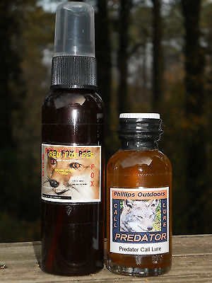 RED FOX Lure & Scent  - for attracting & trapping fox and coyotes