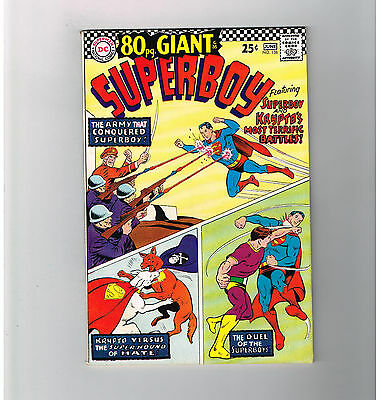 SUPERBOY (v1) #138 Grade 8.5 Silver Age 80-Page Giant from DC Comics!