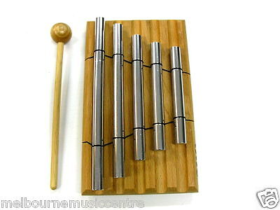 TOCA 5 TONE BARS Long Sustain Rich Sounding Aluminum Alloy *w/Mallets* NEW!