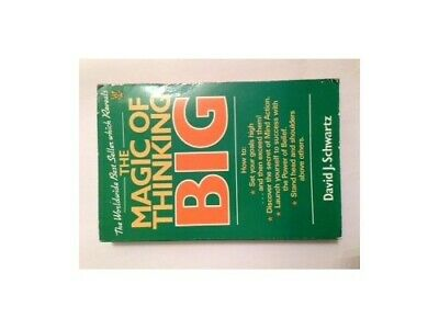 The Magic of Thinking Big by Schwartz, David J. Paperback Book The Cheap Fast