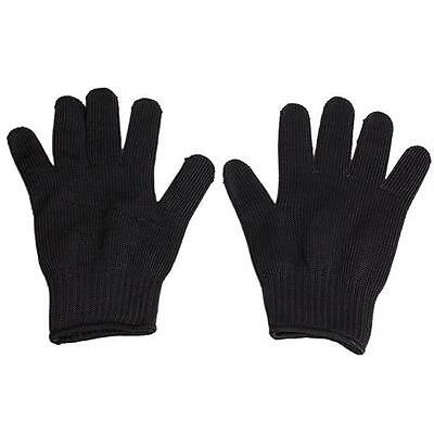 1Pair Hot Outdoor Non-slip Cut-Resistant Safety Working Gloves & Wrist Armband B