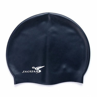 Easy Fit Adult Swimming Hat Cap Swim Mens Womens Unisex Silicone New