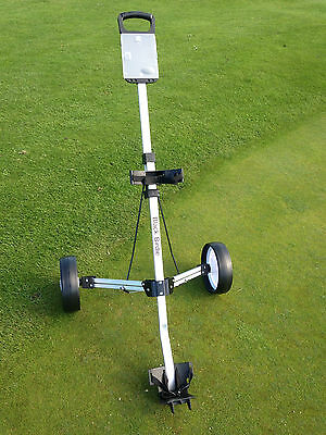JL Golf Birdie NEW Aluminium Golf Trolley 2 wheeled pull push lightweight cart
