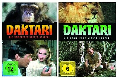 Daktari - Season/Staffel 3+4 * NEU OVP * DVD Set