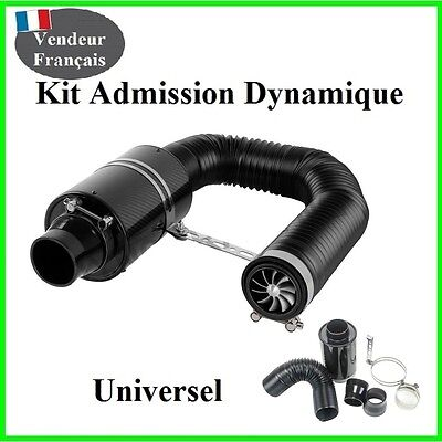 Kit Admission Dynamique Direct Universel Boite a Air Carbone Type BMC Tuning