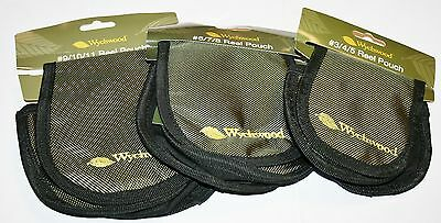 Wychwood Reel Pouches Three sizes Available