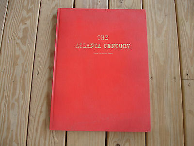 The Atlanta Century By Norman Shavin March 1860-May 1865 Signed Book