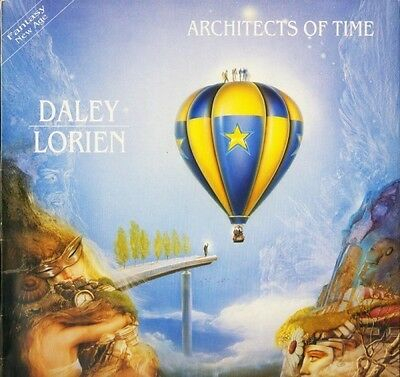 MARTIN DALEY/DUNCAN LORIEN architects of time EULP 1154 arc 1991 LP PS EX/EX