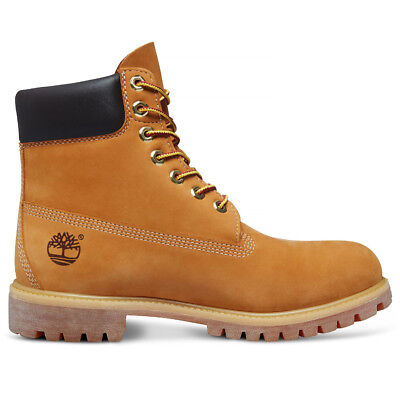 Timberland Mens 6 Inch Classic 10061 Yellow Premium Wide Fit Waterproof Boots