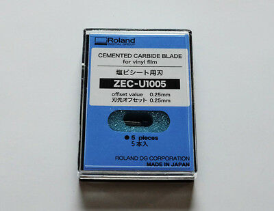 Blade for Roland Cutter Cemented Carbide (5pcs - 45°). USA Fast Shipping