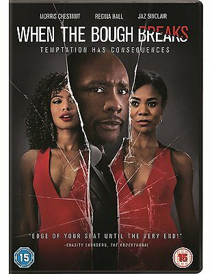 WHEN THE BOUGH BREAKS Morris Chestnut Regina Hall DVD in Inglese/Russo NEW .cp