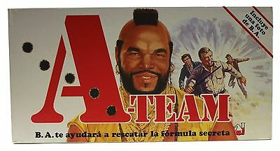 1984 Parker Brothers THE A-TEAM Spanish board game - New old store stock