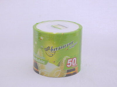 50 Pack Blank CD-R 215MB 32X 8cm 3inch Mini CD  Printable surface Factory Sealed