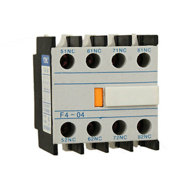 Contact Relay Auxiliary 4 NC Contactor Circuit Breaker