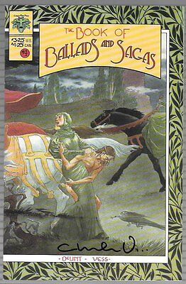 The Book Of Ballads And Sagas #4 Signed Charles Vess NM FREE S/H