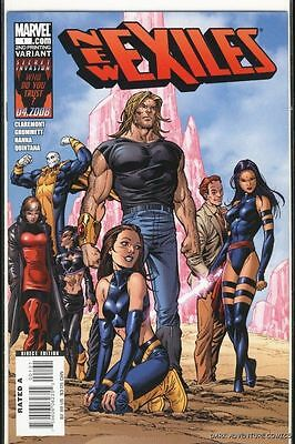 New Exiles #1 2nd Variant NM FREE SHIPPING