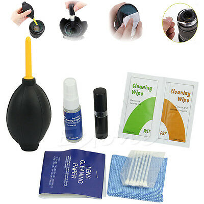 New 7 in 1 Professional Pro Lens Camera Cleaner Cleaning Kit Power