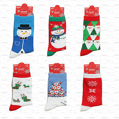 Mens Ladies Christmas Cotton Socks Novelty Stocking Filler Christmas Gift socks