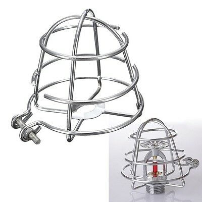New 1Pcs Chrome Plated Recessed Adjustable Fire Sprinkler Headguard Hook 1/2''