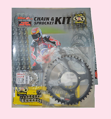 JTKHCBR1A Heavy Duty Chain and Sprocket kit Yamaha YZF125  YZF R125 2008 to 2013