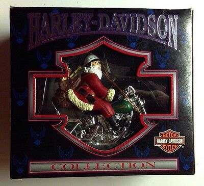 "1998 Harley-Davidson Ornament "" North Pole Motorcycle Club"""