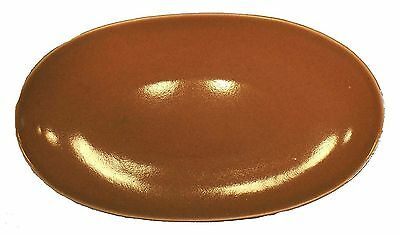 STEUBENVILLE American Modern CORAL color Relish Plate or Gravy Underplate - 11""