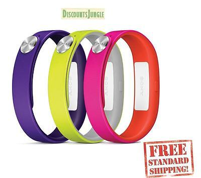Sony SWR110 SmartBand Wrist Straps for SWR10 COLORS Purple/Yellow/Pink SIZE-S