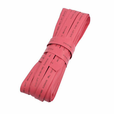 Ratio 2:1 10M 9mm Dia Heat Shrinkable Tube Shrinking Tubing Red