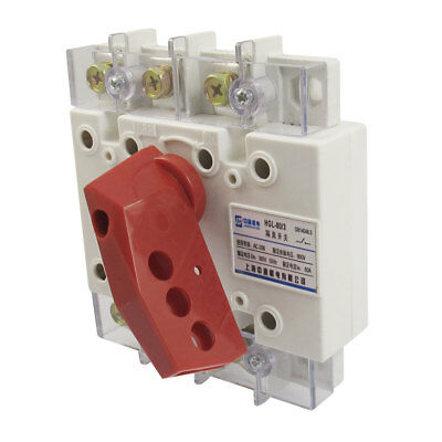 AC 380V 50Hz 80A 2P+E 660V Insulator Electronic Circuit Isolating Switch