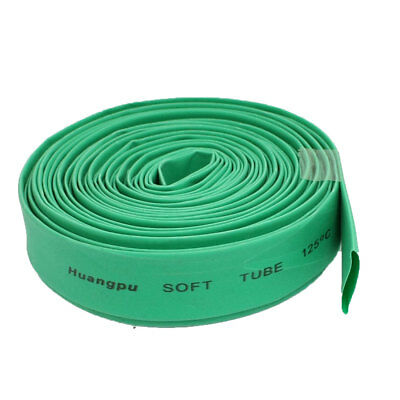 Green 10mm Diameter Heat Shrink Tubing Shrinkable Tube Sleeving Wrap Wire 5M