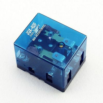 12VDC 80A DPDT High Quanlity Power Relay Motor Control Screw Mounting
