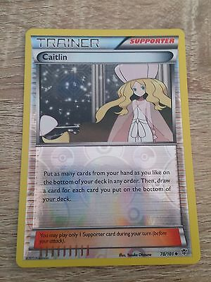 Elektross Rare Holo Pokemon Card Plasma Blast 33/101 NEW
