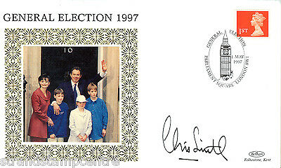 1997 Benham General Election Cover - Signed by Secretary of State, CHRIS SMITH