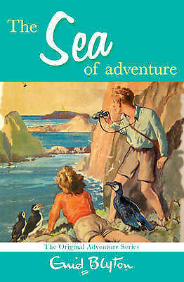 The Sea of Adventure by Enid Blyton (Paperback) Book - New