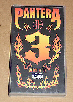 Pantera - 3 Watch It Go - Videocassetta Vhs