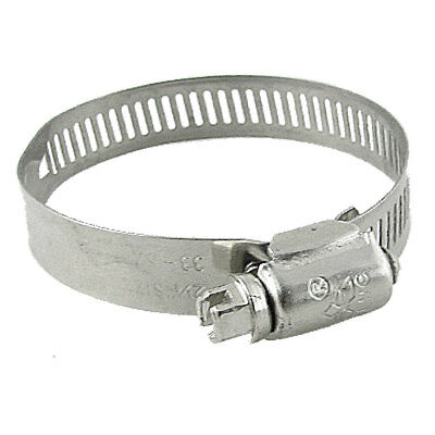 "33-57mm 2 1/4"" Stainless Steel Worm Gear Hose Clamp Hoop Band"