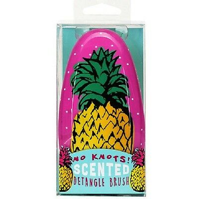Pineapple Design No Knots Scented Detangle Hair brush.No tangles.Beauty.Grooming