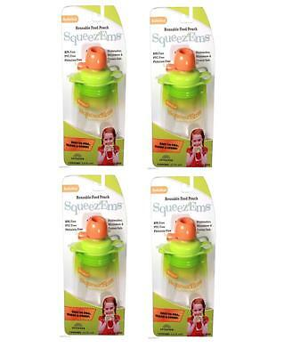 8 Pack Booginhead Squeezems Travel Easy Fill Safe Bpa Free Reusable Food Pouches