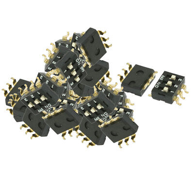 50 x Electronic Component 3 Ways Slide Type DIP Switches
