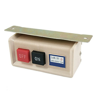 AC380V AC220V 10A On/Off Switch New for Sewing Machine