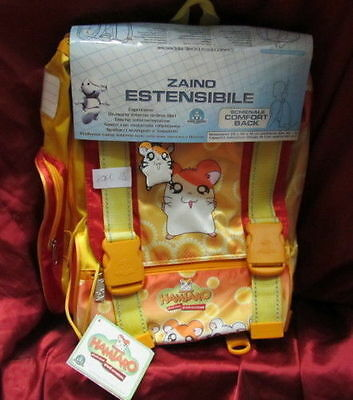 BACKPACK SCHOOL BAG MANGA/ANIME HAMSTERS-HAMTARO pokemon,doraemon,hamster,disney