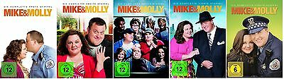 Mike & Molly - Season/Staffel 1+2+3+4+5 * DVD Set * NEU OVP * (and,und)